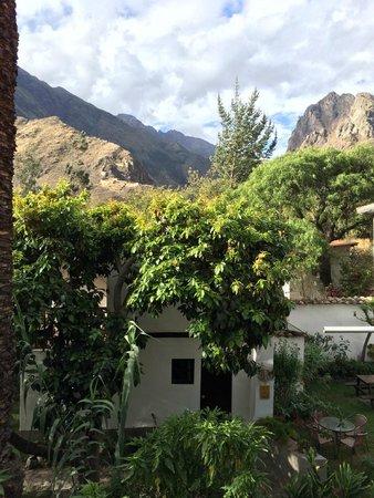 El Albergue Ollantaytambo : Garden/Outdoor Restaurant Seating