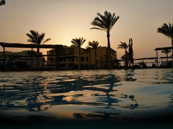 Jaz Samaya Resort: Abendstimmung