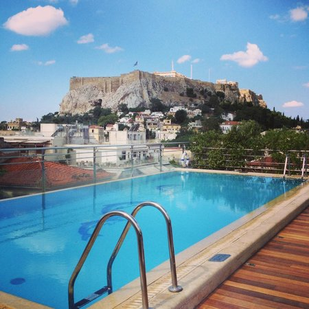 Electra Palace Athens: Incredible view from the pool