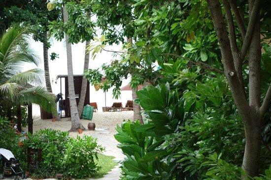 Buri Rasa Koh Phangan: Blick zum Meer