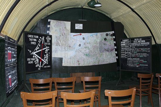 Lincolnshire Aviation Heritage Centre: Briefing Hut
