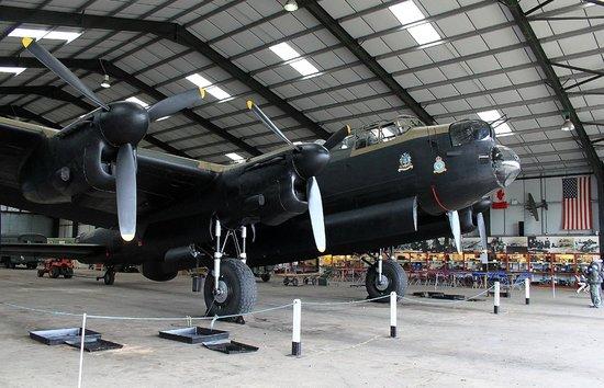 Lincolnshire Aviation Heritage Centre: Lancaster 'Just Jane'