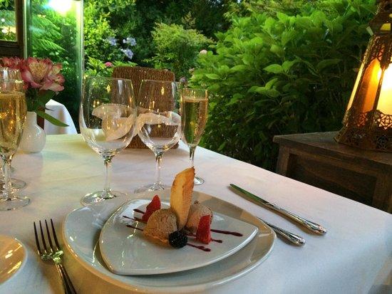 Otzarreta: Foie de perdiz como aperitivo delicioso