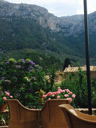 Belmond La Residencia: Die Aussicht von der Terrasse der Bar des Hotels