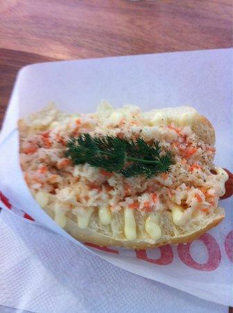 Das Dog: the coleslaw one