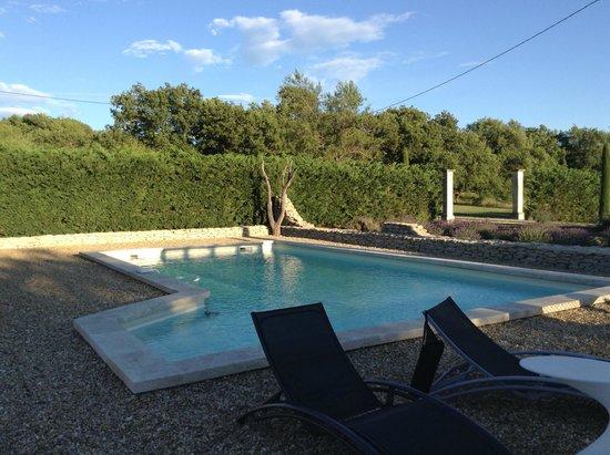 Le Mas Regalade: La bella piscina