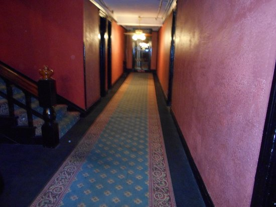 Crescent Hotel Ghost Tour Orbs On Walls
