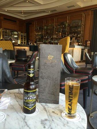 Gillray's Steakhouse & Bar: Cerveza con la temperatura ideal