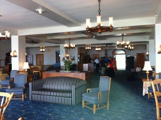 Hotel Tadoussac : La réception