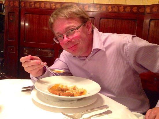 Zum Schwarzen Kameel: Very tasty gulash