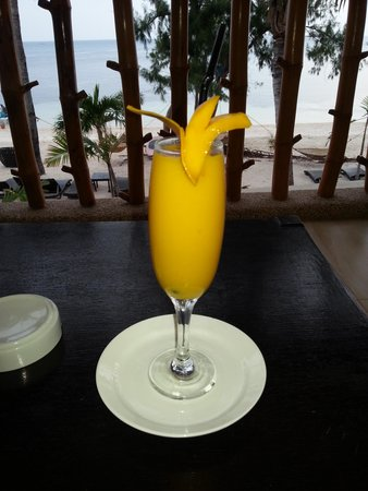 Ocean Vida Beach & Dive Resort: Welcome drink