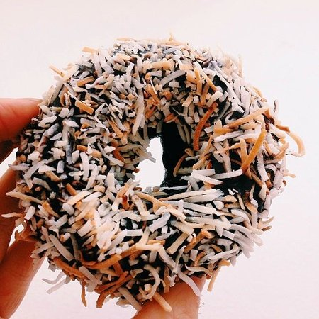 Kelly's Bake Shoppe: Chocolate Coconut Donut (GF and V)