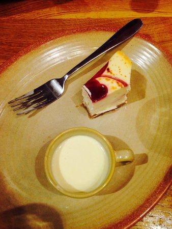 Nando's: Cheesecake!!!