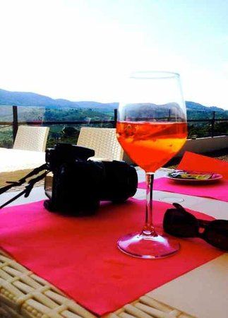 Enjoying An Aperol Spritz With The View Picture Of Enjoy