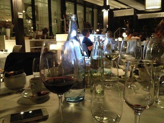 Massimo: Table en terrasse