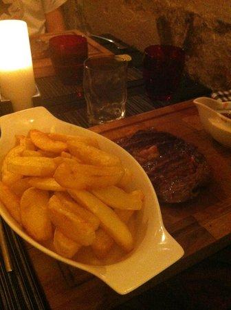 Gil's Little Bistro : Boeuf argentin + frites