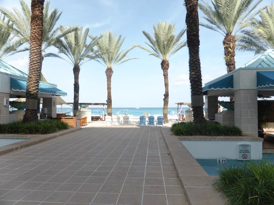 The Westin Grand Cayman Seven Mile Beach Resort & Spa : on the way to the beach