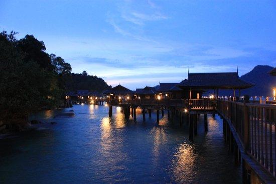 Pangkor Laut Resort: Sunset at Pangkor Laut