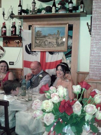 Festeggiamo anche i matrimoni alla cantinola!