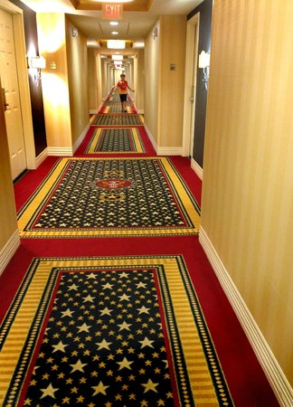 Wyndham Gettysburg: Hallway on 6th floor
