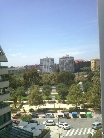 Hotel Alameda Plaza : Panorama lato destro della camera