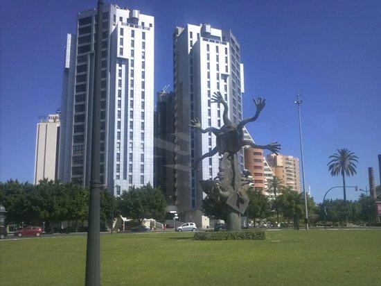 Foto de hotel alameda plaza valencia vita dell 39 hotel dal for Piscina de valencia alameda