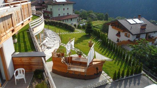 Family Hotel Belvedere: veduta dalle camere