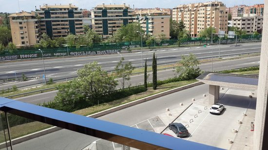 Hilton Madrid Airport: View from The Hotel Room