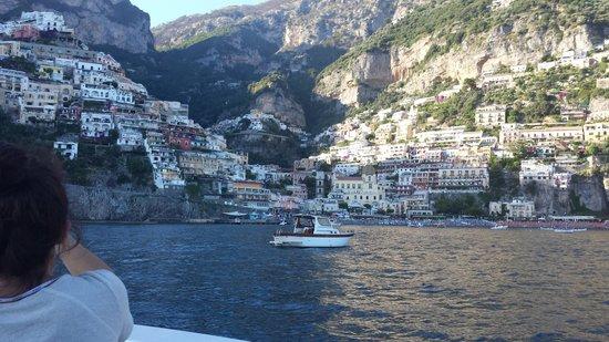 Dimora del Podesta : Romantic sea arrival into Positano