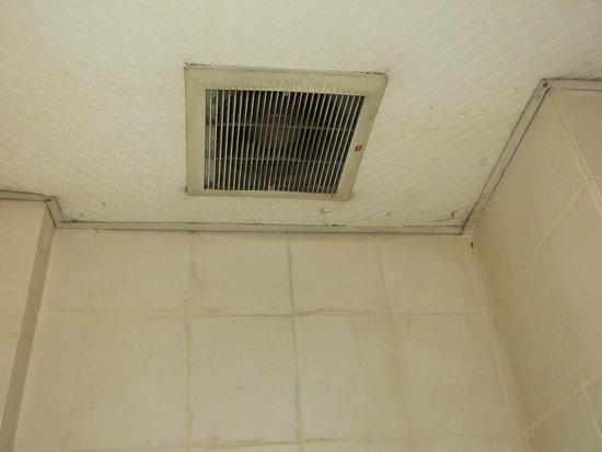 Winsin Hotel: Plafond de la salle de bain