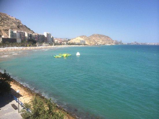 Hotel Spa Porta Maris & Suites del Mar : Vista bahía de Alicante