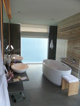 Park Hyatt Busan: Bathroom morning view