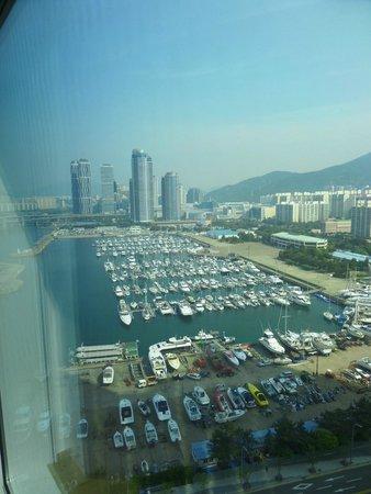 Park Hyatt Busan: View from the room