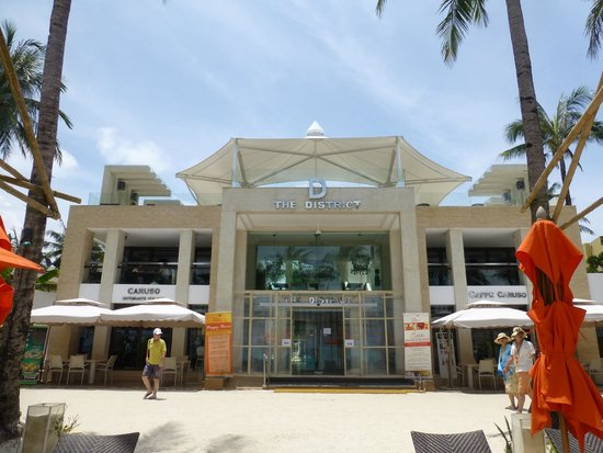 The District Boracay : Beach front location