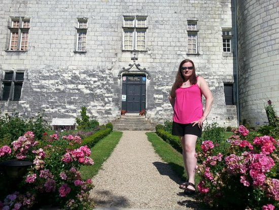 Chateau de la Motte : Playing at Queen of the Chateau!