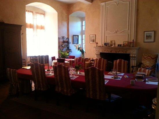 Chateau de la Motte: Dining room