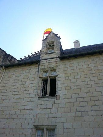 Chateau de la Motte : Isabelle de Poissy (twin) from outside
