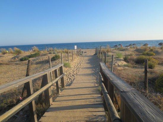 Barcelo Punta Umbria Beach Resort: playa