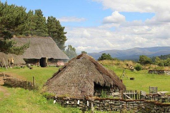 Highland Folk Museum: Township 1700