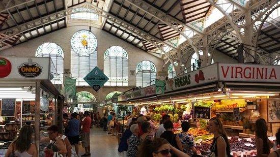 Central Market (Mercado Central) : Particolare della struttura