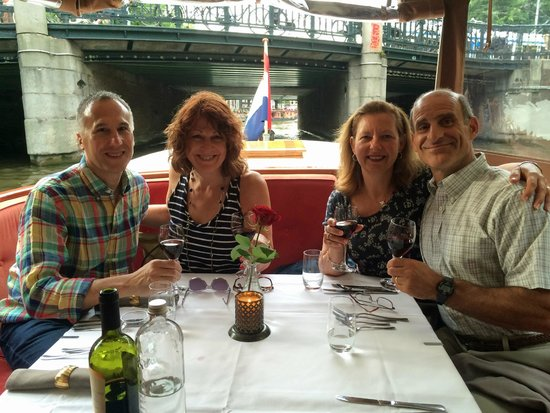 Amsterdam Jewel Cruises - Dinner Cruise: Excellent meal and cruise