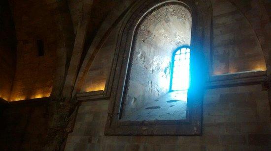 Castel del Monte : La magia all'interno del castello....  Favoloso 😊