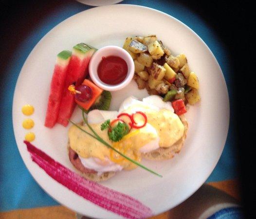 Casa de los Suenos: Mmm! Deliciosos huevos benedictinos!
