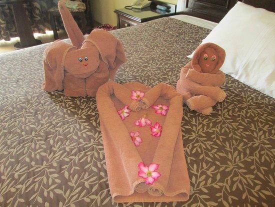 Hotel Riu Santa Fe : House keeping towel art