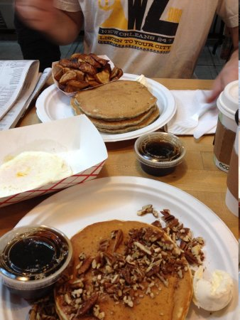Market Lunch: Pancake paradise