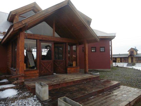America del Sur Hostel: The Hostel Entrance