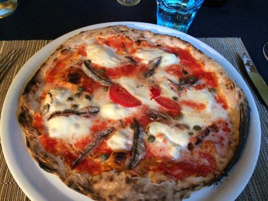 Il Caminetto : Pizza con bufala