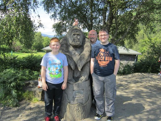 Go Ape Aberfoyle : Great fun day out - for all ages