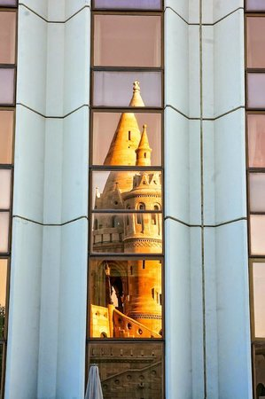 The Hilton Budapest reflects the gorgeous architecture that surrounds it.