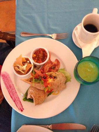 Casa de los Suenos: El delicioso y sofisticado burrito!
